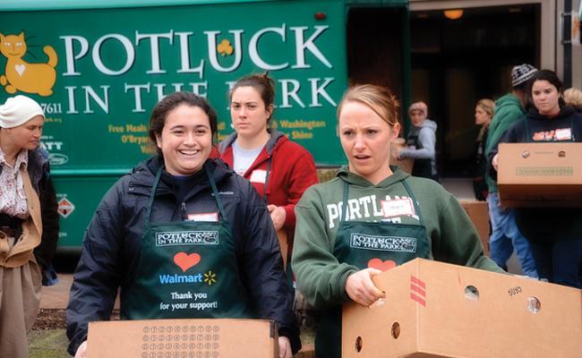 Potluck Volunteers