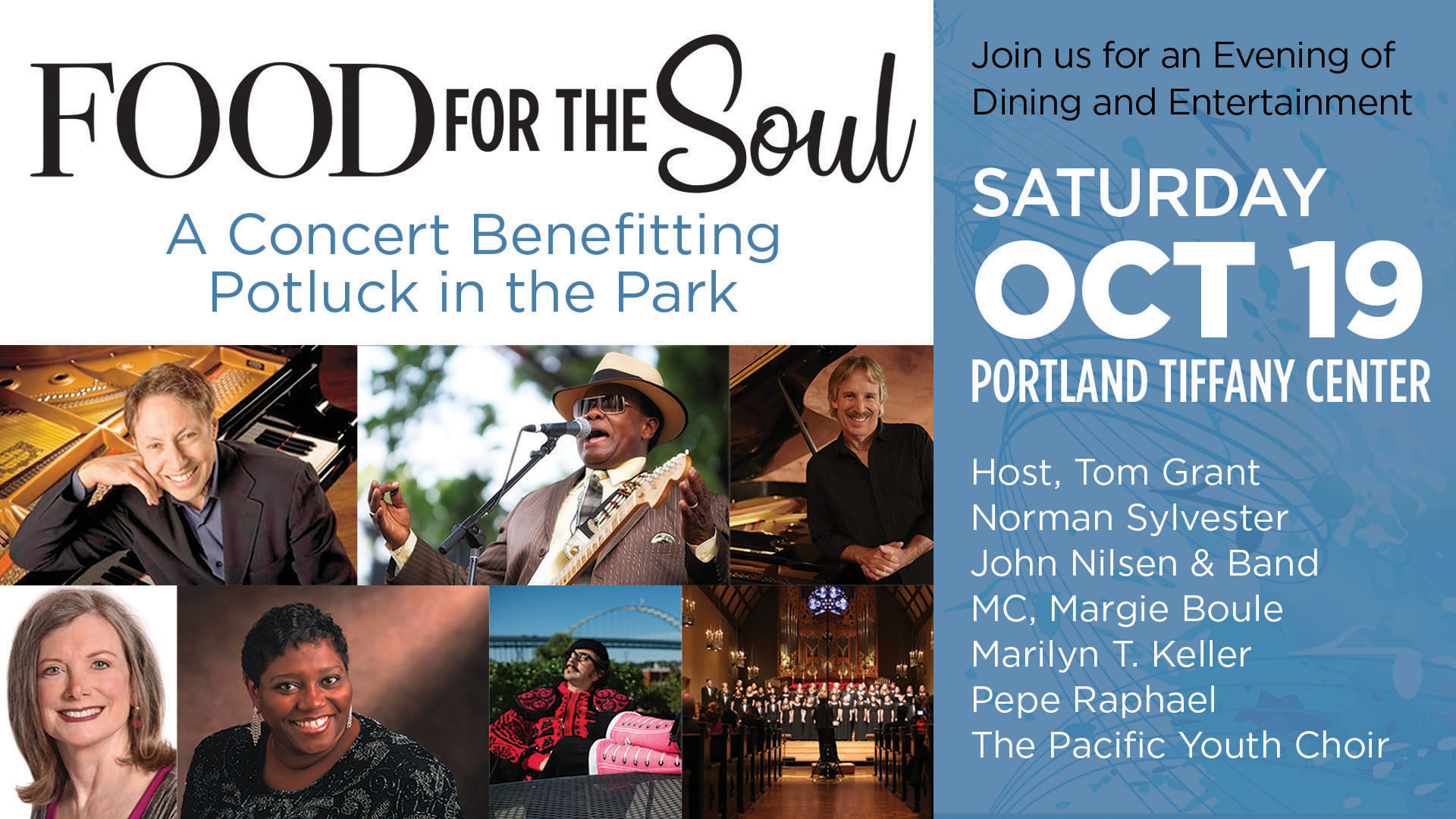 Food for the Soul Benefit Concert
